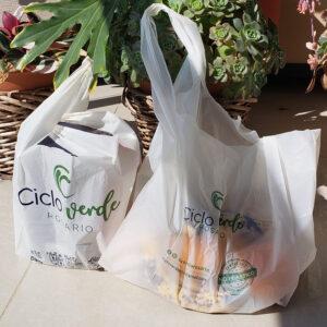 Bolsas Camiseta Almidon de Maiz