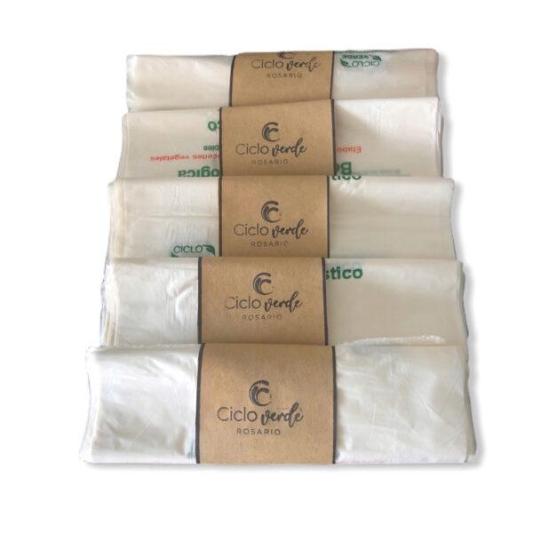 Bolsas Residuo y Consorcio Almidon de Maiz